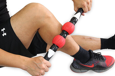 Balance 1 Premium Muscle Roller Stick with 2 Strengthen Rings