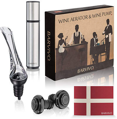Barvivo Wine Aerator and Wine Saver Pump
