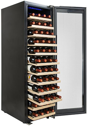 AKDY Freestanding Wine Cooler Fridge