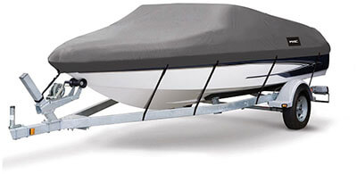 MSC Runabout Boat Cover