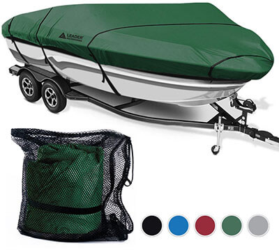 Leader Accessories Trailerable Runabout Boat Cover