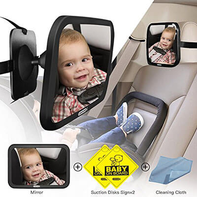 COOODI Baby Seat Mirror for Car