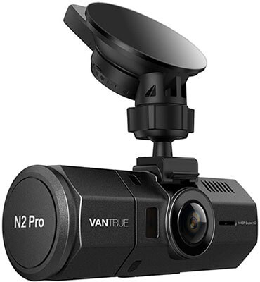 Vantrue N2 Pro Uber Infrared Night Vision Dual Dash Cam