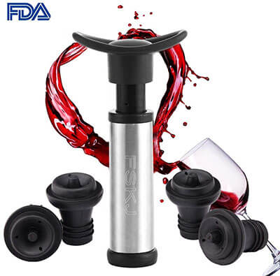 FSKJ Vacuum Wine Saver Pump