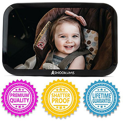Snookums Baby Mirror for Car