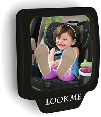 Attom Tech Car Rear View Mirror