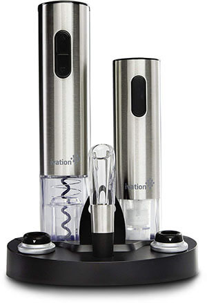Ivation Electric Wine Opener Set