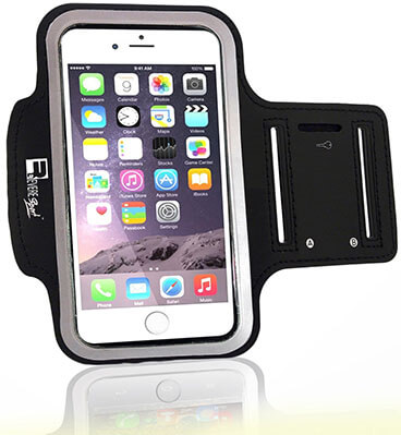 Revere Sport Premium iPhone Running Armband