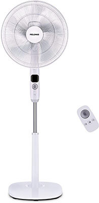 Peloni Oscillating Pedestal Fan