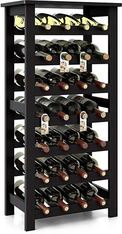 Homfa Bamboo Wine Rack