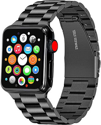 Libra Gemini Apple Watch Band 42mm 44mm Stainless Steel iWatch Band