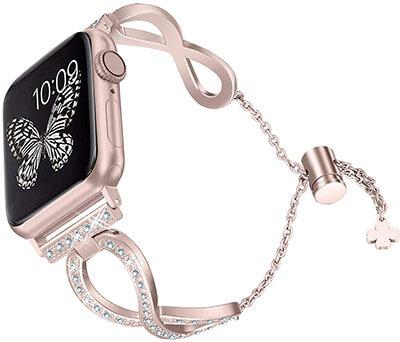 Secbolt Bling Bands 38mm 40mm iWatch Apple Watch Band