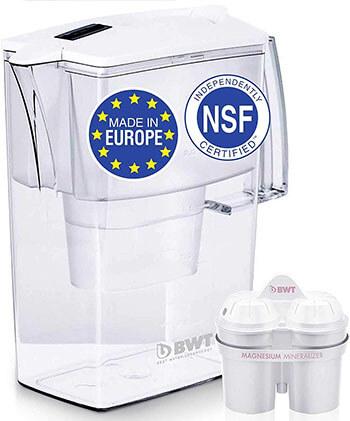 BWT Award -Winning Austrian Quality Compact Water Filter Pitcher