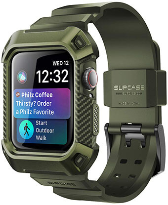 SUPCASE Rugged Protective Case for Apple Watch