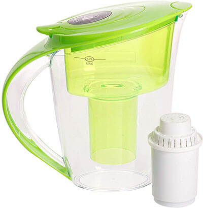 Health Metric Large Alkaline Water Pitcher