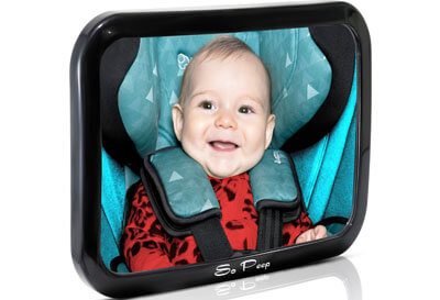 Top 10 Best Baby Car Mirrors in 2019 Reviews