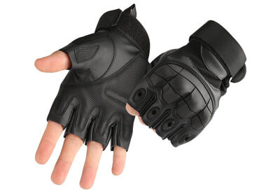 ea10f904d Top 10 Best Fingerless Motorcycle Gloves in 2019 Reviews – AmaPerfect
