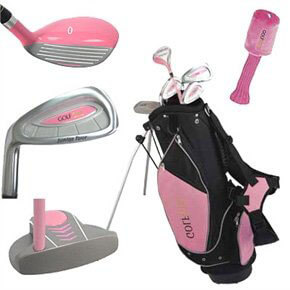 Golf Girl Lefty Junior Golf Clubs