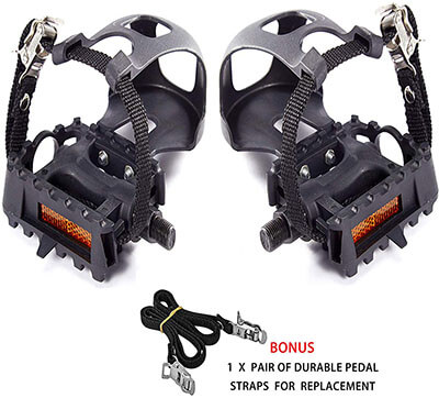 AbraFit Bicycle Pedals