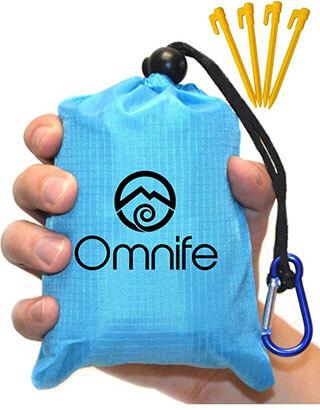 Omnife Premium Pocket Beach Blanket