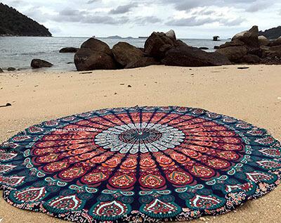 Raajsee Beach Towel Blanket