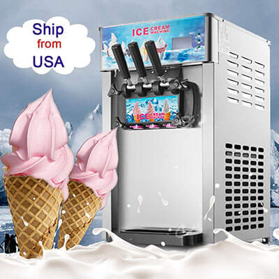 Denshine Ice Cream Maker Machine