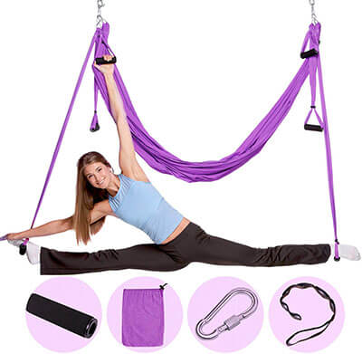 Nillygym Antigravity Yoga Hammock Swing