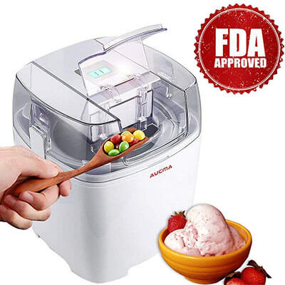 Aucma Ice Cream Maker Machine