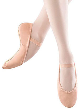 Bloch Girls Ballet Slipper Shoes
