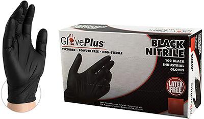 Ammex GlovePlus Nitrile Gloves