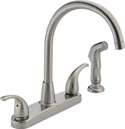 Peerless Two Handle Kitchen Faucet