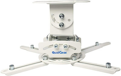 QualGear PRB-717-WHT Ceiling Mount