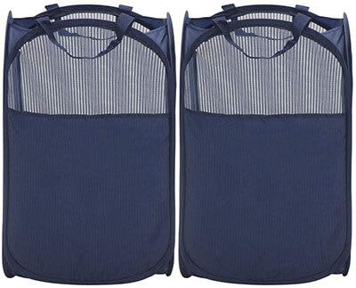 STORAGE MANIAC Pop-Up Mesh Foldable Laundry Hampers