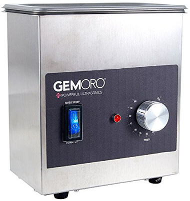 GemOro Ultrasonic Jewelry Cleaner