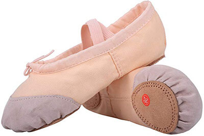 LONSOEN Ballet Slipper Shoes
