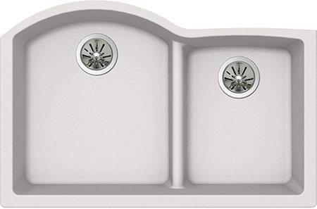 Elkay Quartz Luxe Stainless Steel Double Sink