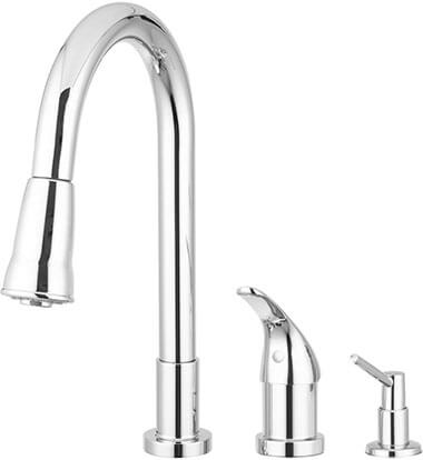 Pacific Bay Grandview Pull-Down Kitchen Faucet