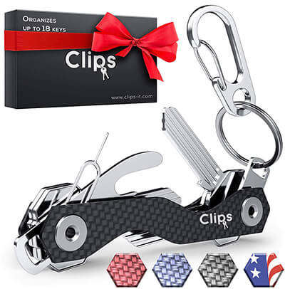 Clips Smart Key Holder