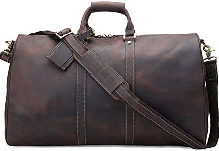Polare Duffle Leather Bag