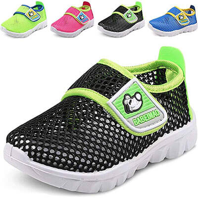 DADAWEN Baby's Boy's & Girl's Breathable Mesh Running Water Shoe