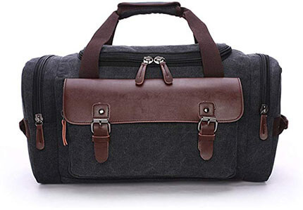 A-MORE Duffle Leather Bag