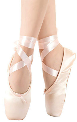 Kukome Ballet Dance Toe Shoes
