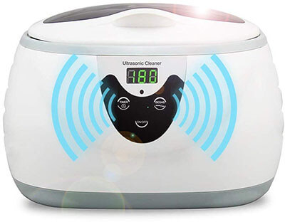 HOMMINI Ultrasonic Jewelry Cleaner