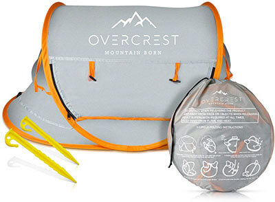 Overcrest Pop Up Beach Tent for Baby