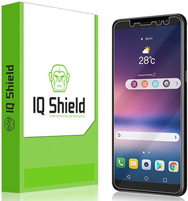 IQShield Samsung Galaxy A8 Screen Protector