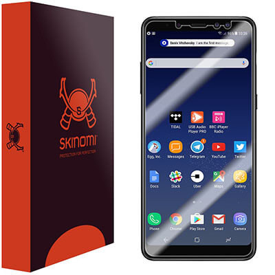 Skinomi Samsung Galaxy A8+ Screen Protector