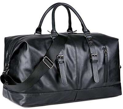 BAOSHA PU Leather Duffle Bag