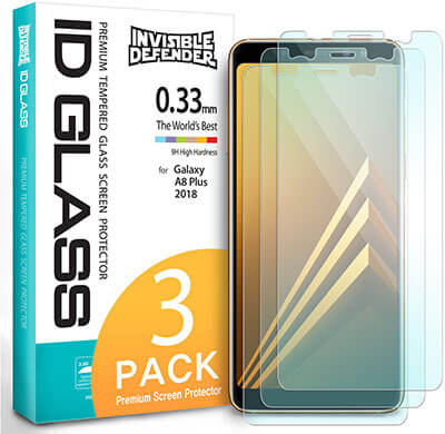 Ringke Screen Protector for Compatible with Samsung Galaxy A8 Plus 2018