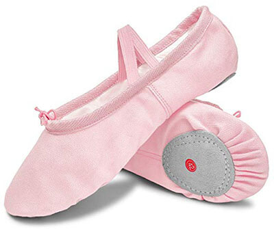L-Run Girls Ballet Slipper Shoes