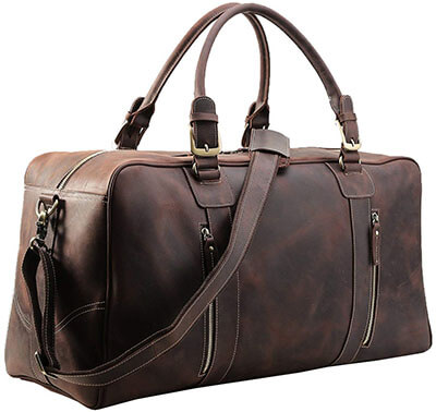 Polare Men's Leather Bag